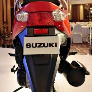 Suzuki Let's 110cc scooter India (6)