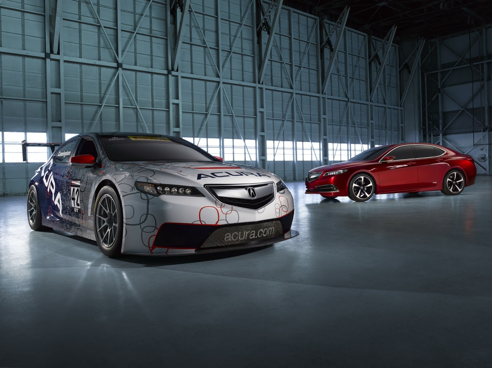 GT Race Car Acura TLX 2015