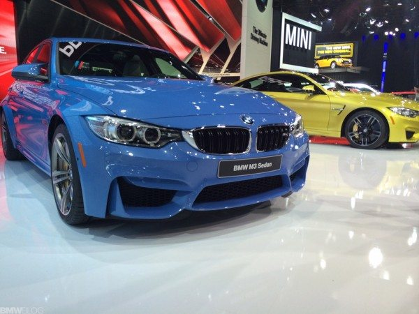 [Unveiled] New 2014 BMW M3 and M4 Coupe make their public debut at NAIAS 2014