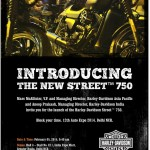 Official- Harley Davidson Street 750 India Launch to happen on 5th February at Auto Expo