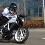 DSK Hyosung at Auto Expo 2014: Hyosung Aquila 250; Hyosung GD250N and Hyosung RT125D