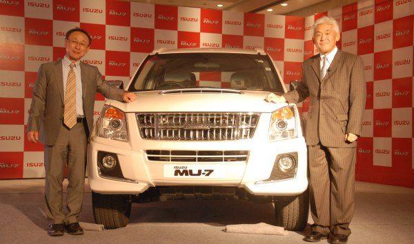 Isuzu Motors India plant ground breaking ceremony in Hyderabad on 27th Jan 2014