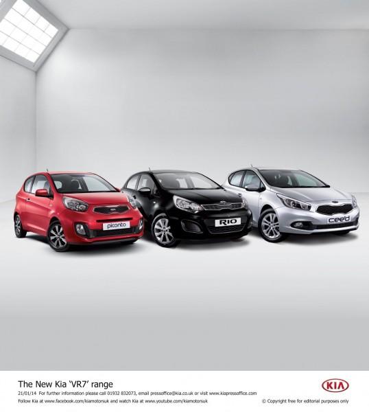UK- New Kia VR7 range announced