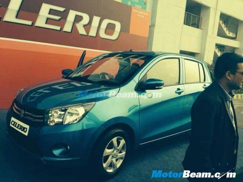 Latest Maruti Suzuki Celerio pics show the upcoming model in all its glory