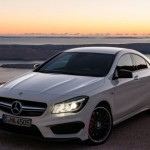Mercedes CLA45 AMG India debut at Auto Expo 2014