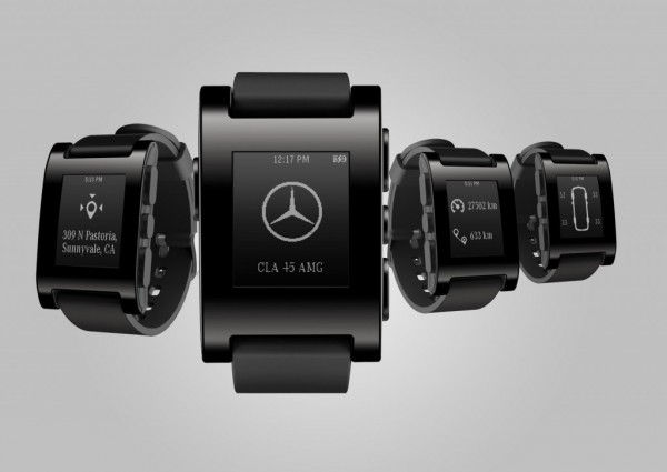 Check out this Cool Mercedes Smart Watch that can Talk with Your Car
