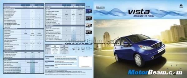 Upcoming Tata Vista Tech Brochure leaked