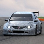 New 2014 Honda Civic WTCC Race Car first images released
