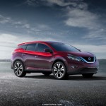 New 2015 Nissan Murano rendered; NY Auto Show debut