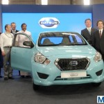 First Datsun Go rolls off the assembly line in Oragadam