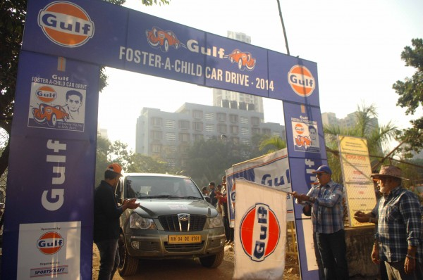 Official Release- Gulf 'Foster A Child Car Drive' 2014 held on 16th Feb brought smiles on faces of orphans