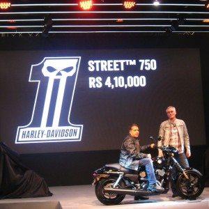 Harley davidson India Street 750 Auto Expo 2014 (5)