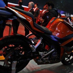 Hero HX250R auto Expo 2014 (21)
