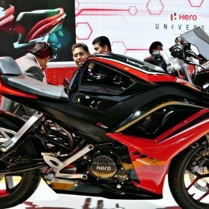 Hero HX250R auto Expo 2014 (4)