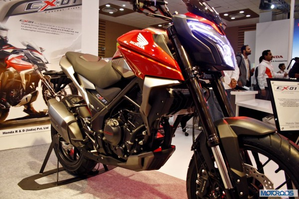 Stunning Honda Cx 01 On Off Road Motorcycle At Auto Expo 2014