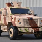 Tata Motors showcases Frontline Combat Vehicles KESTREL & LAMV at DEFEXPO 2014