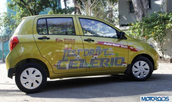 Maruti Suzuki Celerio AMT exterior (11)