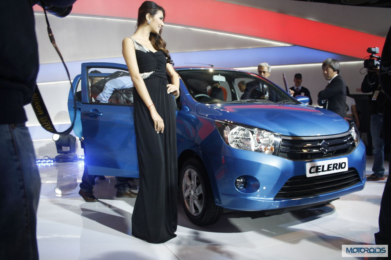 new car launches at auto expo 2014seriously blog Maruti Suzuki Celerio Launched at Auto Expo 2014