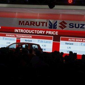 Maruti Suzuki Celerio exterior Auto Expo 2014 (6)
