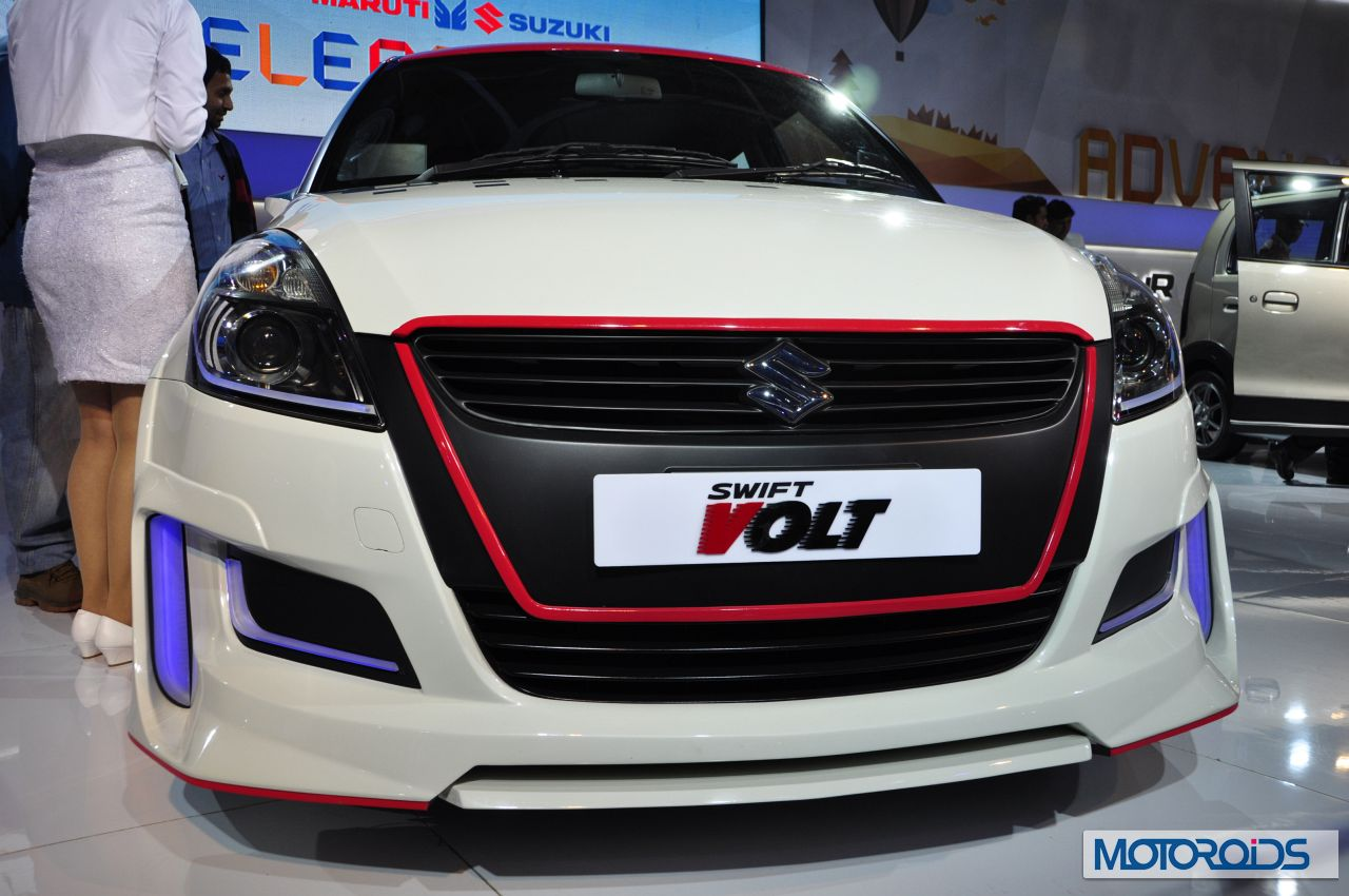 Maruti suzuki swift volt auto expo 2014 5 jpg 1280 850 wheels pinterest suzuki swift and wheels