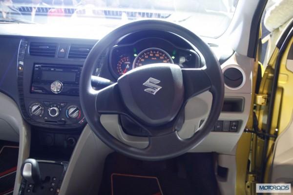 Maruti Suzuki celerio interior Auto expo 2014 (21)