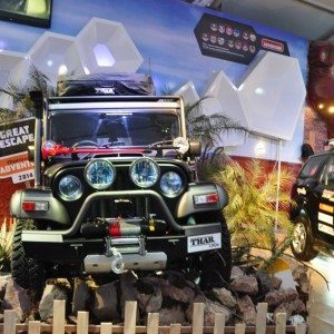 Modified Thar at Auto Expo 2014 (2)