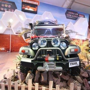 Modified Thar at Auto Expo 2014