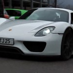 Porsche 918 Spyder production variant spotted