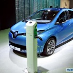 Renault Zoe All-electric Car at Auto Expo 2014: Images and Details
