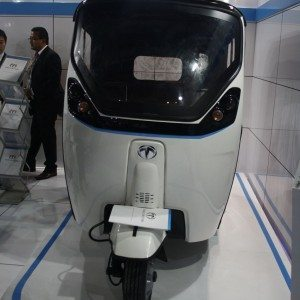 Terra Motors T4 electric three wheeler