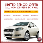 Hefty discounts on Fiat Linea Classic