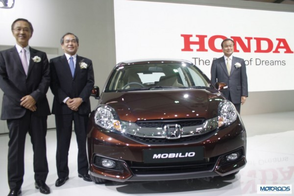 Honda Mobilio India Launch to happen in July; Images & Details here