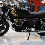 Auto Expo 2014 LIVE – 2014 Moto Guzzi V7 Images & Details