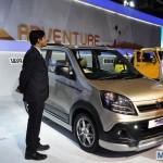Auto Expo 2014 LIVE: Maruti Suzuki Wagon R Xrest [Images & Details]