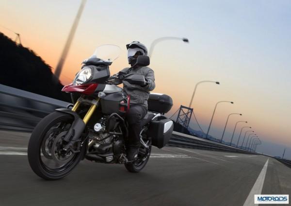 Auto Expo 2014 LIVE: Suzuki V-Strom 1000 ABS showcased