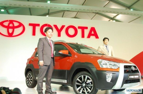 Check out the Toyota Etios Cross in this video