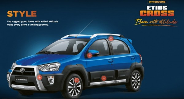 Toyota Etios Cross launch in May; Bookings commence, Website goes LIVE
