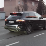 New 2015 Porsche Cayenne caught on tape