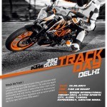 KTM 390 Duke track day at BIC on March 15