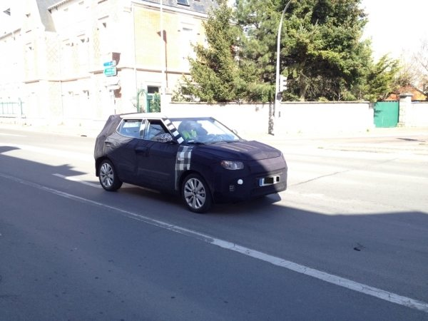 Ecosport Rivalling SsangYong XLV Compact SUV Spotted on Test in France