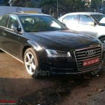 New 2014 Audi A8L India Launch Soon; Spotted in Pune