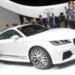 Geneva Motor Show 2014 LIVE: Audi TT Quattro Sport Concept [Images & Details]