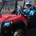 Gaurav Gill visits Polaris Experience Zone