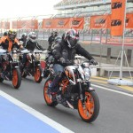 KTM 390 Duke track day organized at BIC