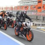 KTM 390 Duke track day organized at BIC