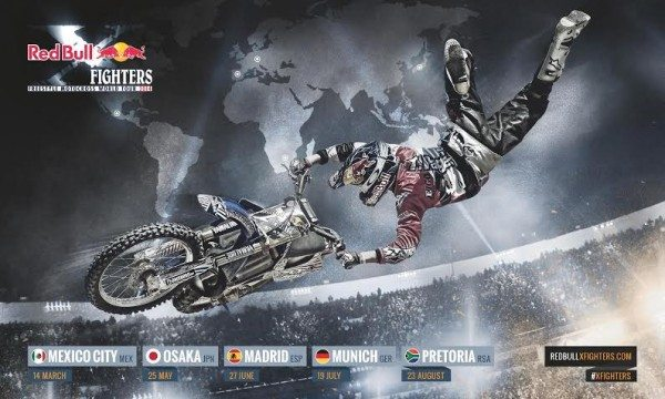 Official Release- Red Bull X- Fighters to kick off in Mexico on 14th March 2014