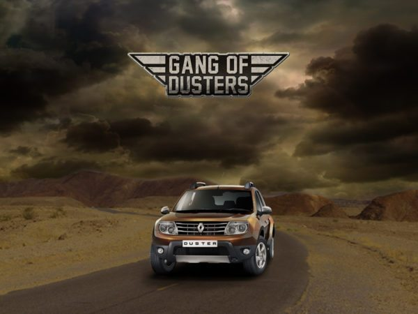 Renault flags off Gang of Dusters – Desert Odyssey in Rajasthan