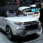SsangYong XLV showcased at Geneva Motor Show 2014
