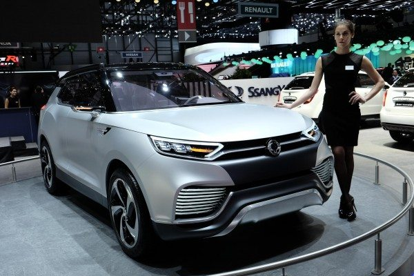 SsangYong XLV showcased at Geneva Motor Show 2014