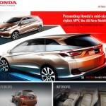 Honda Mobilio India Launch soon; Images & Details